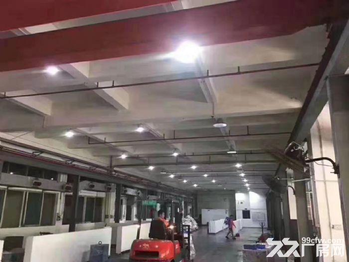 凤岗竹塘现成行车办公室装修标准厂房出租一楼1780平-图(3)