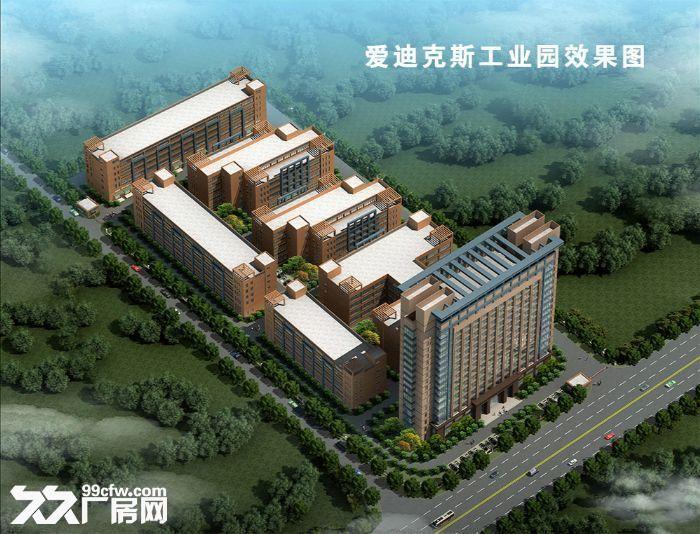 急租爱迪克斯工业园750平米四楼厂房带2吨货梯租金10元/平米/月-图(1)