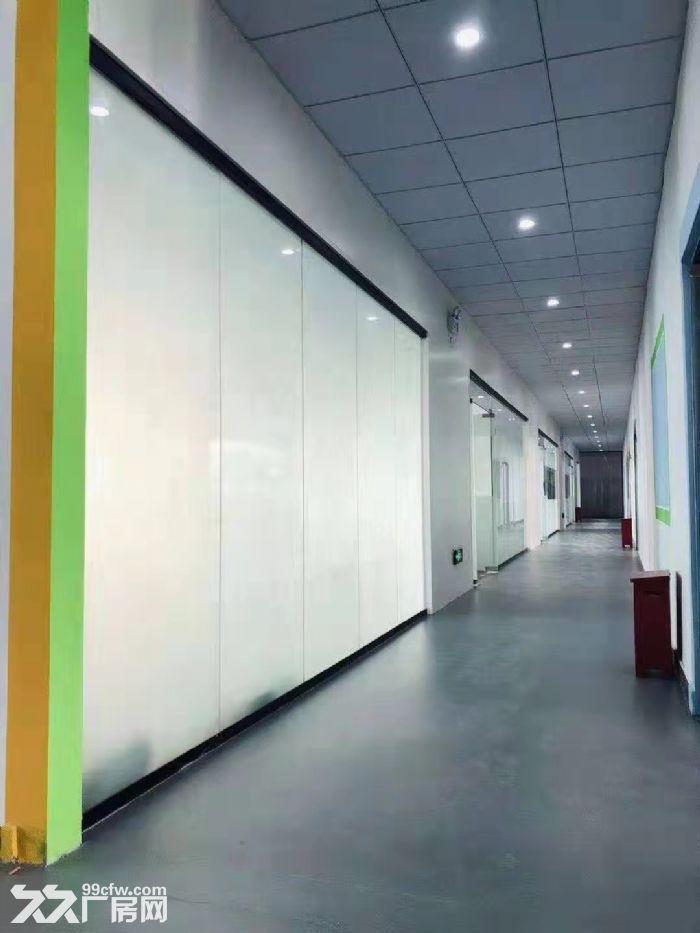龙岗五和地铁站精装办公室600平出租-图(2)