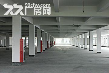 出租厂房上海松江区泗泾开发区104板块标准厂房三层12600平方证齐全-图(2)