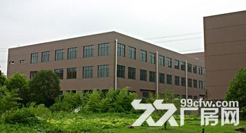 出租厂房上海松江区泗泾开发区104板块标准厂房三层12600平方证齐全-图(1)