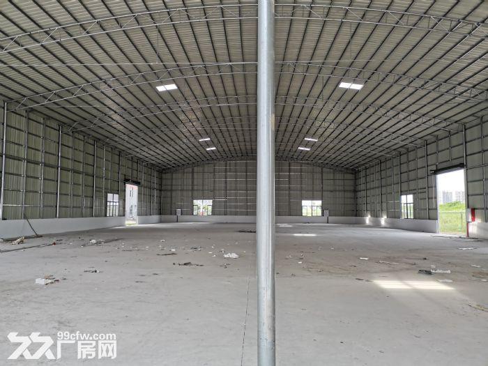 顺德大良3000平方米厂房出租,单一层星棚、红本房产证、方正好用、有隔热层,通风-图(1)