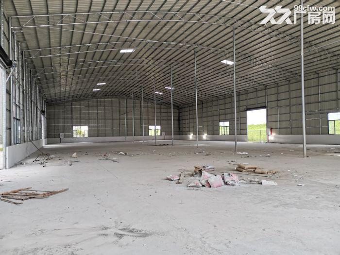 顺德大良3000平方米厂房出租,单一层星棚、红本房产证、方正好用、有隔热层,通风-图(3)