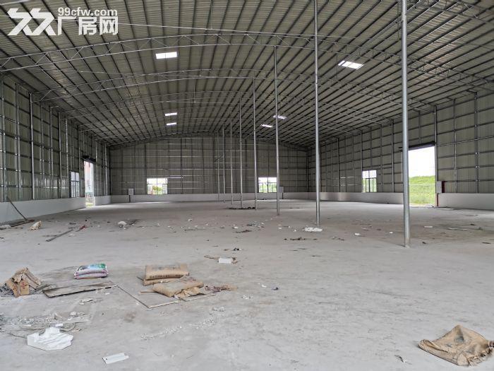 顺德大良3000平方米厂房出租,单一层星棚、红本房产证、方正好用、有隔热层,通风-图(5)