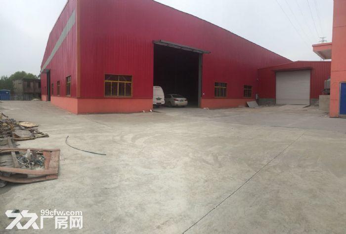 武汉市江夏区金水闸闸东路3100㎡钢结构厂房出租层高9米天车5吨-图(1)