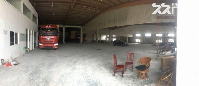 惠州原房东10米层高钢结构厂房,证件消防齐全,空地大,主干道旁,价格不到2-图(1)