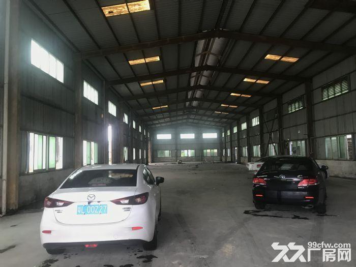 惠州原房东10米层高钢结构厂房,证件消防齐全,空地大,主干道旁,价格不到2-图(7)