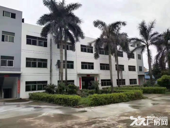 深圳市龙华观澜花园式独院厂房出租空地超大公摊小-图(1)