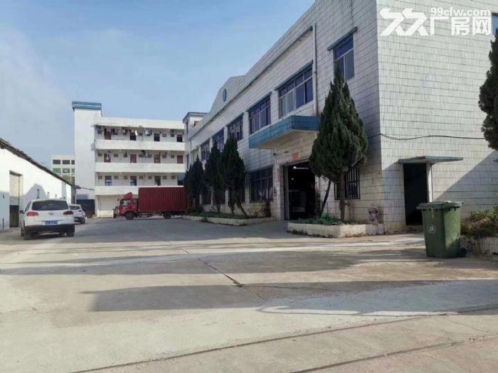 主干道边清溪镇谢坑独门独院厂房出租3240平方电量大可分租-图(1)