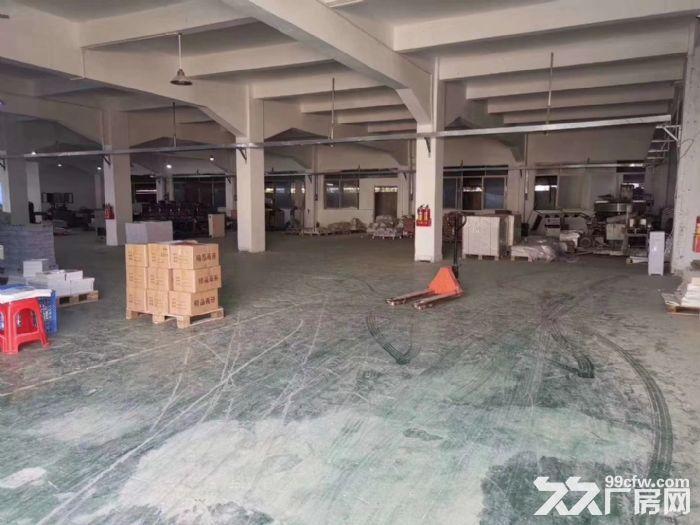 主干道边清溪镇谢坑独门独院厂房出租3240平方电量大可分租-图(3)