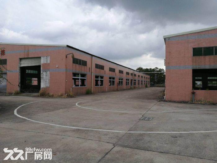 凤岗沙岭车站宏盈工业区附近单层钢构厂房1600平出租9米高-图(1)