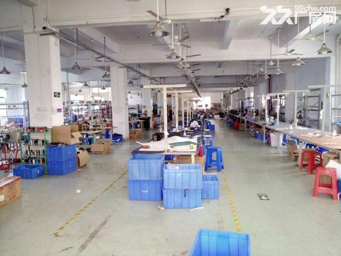 凤岗近东深二线正规重工业带装修厂房出租楼上1350平近深圳-图(2)