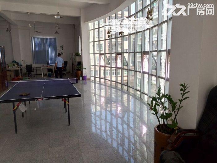 凤岗近东深二线正规重工业带装修厂房出租楼上1350平近深圳-图(1)