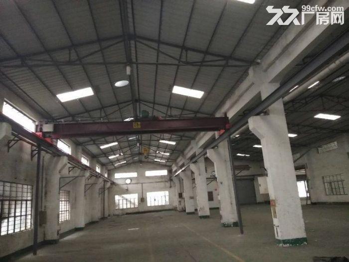 东升9800方单层厂房出租可分租带行车-图(1)