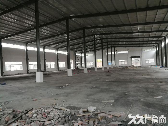 中山市阜沙镇省道S364(东阜公路)边,工业园区内单一层2000方钢构厂房出租-图(2)