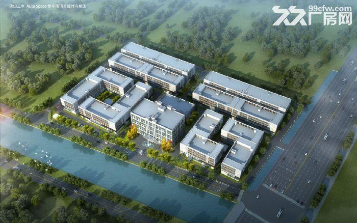 (非中介)广州周边佛山三水汽车配及其上下游行业专业园区50年产权花园式-图(1)