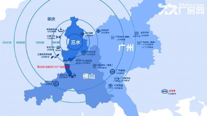 (非中介)广州周边佛山三水汽车配及其上下游行业专业园区50年产权花园式-图(5)
