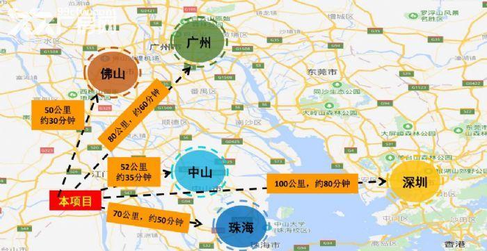 广州产业转移地江门新会全新50年产权厂房出售-图(2)