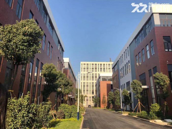 8.1米层高独栋花园式标准化厂房50年独立产权30%首付-图(1)