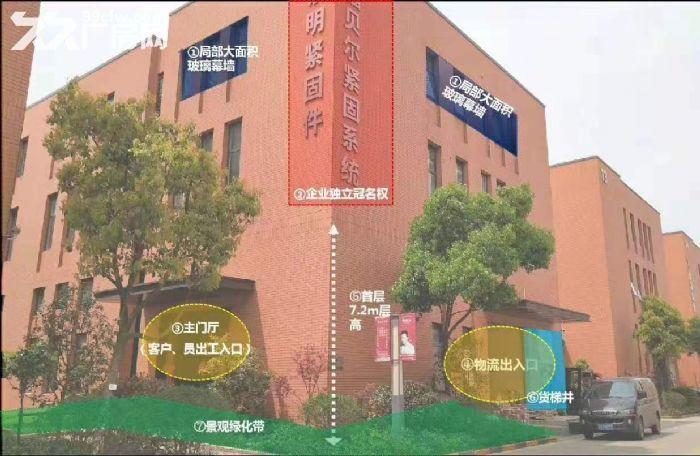 栖霞南京国家级经济技术开发区第一品牌工业产业园495−−6208平标准独栋多层厂-图(3)