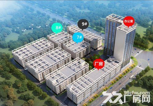 高新区标准厂房大小面积都有_6米层高_有一楼,都龙科技园-图(1)