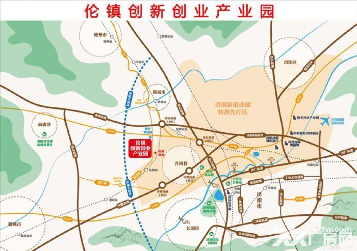 济南西北40公里处,4个产业园区-图(3)
