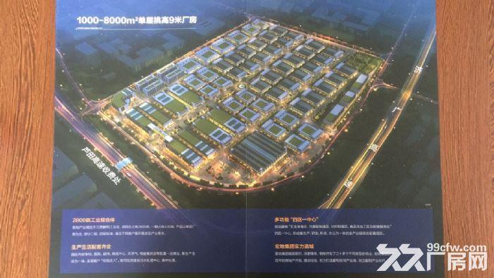 鄱阳宏地产业城1000平米厂房出租(单层9米挑高)-图(1)