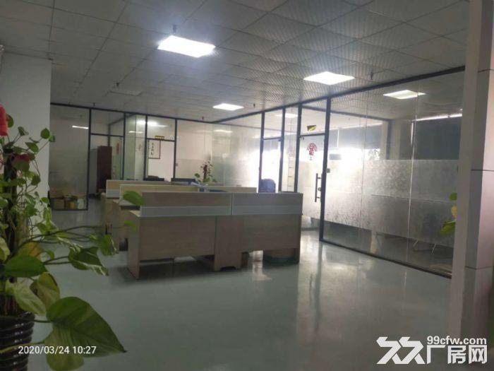 凤岗五联楼上400平带精装修办公室水电小面积厂房出租-图(1)