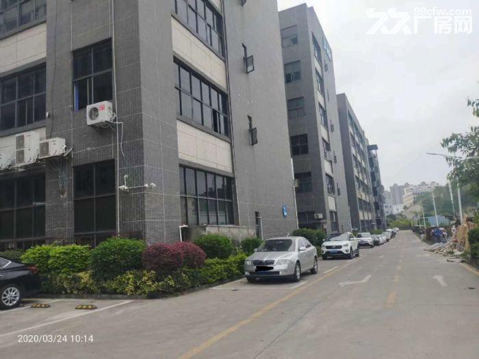 凤岗五联楼上400平带精装修办公室水电小面积厂房出租-图(4)