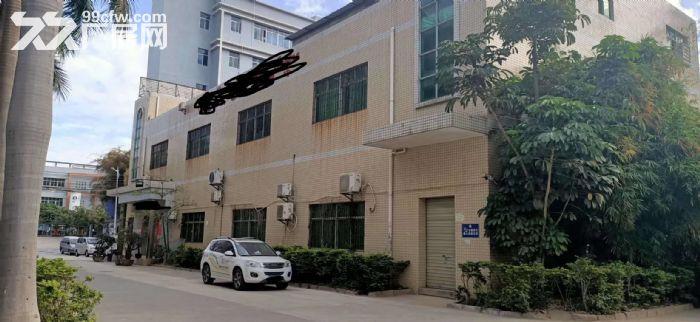 面积实在!凤岗凤德岭独栋两层1400平厂房出租有水电办公室-图(1)