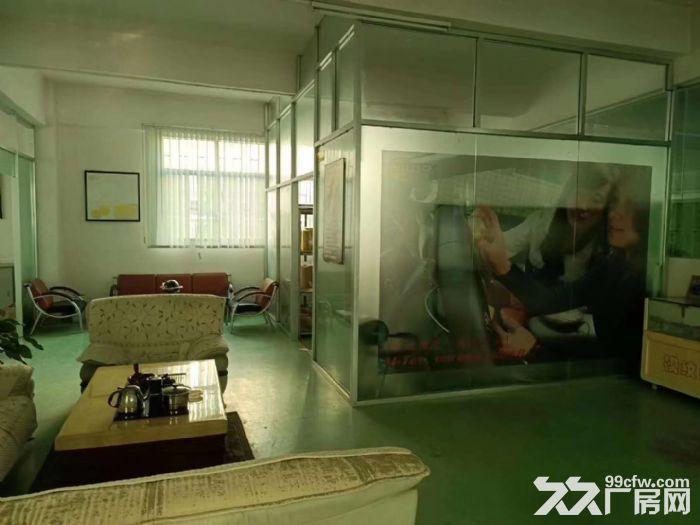 面积实在!凤岗凤德岭独栋两层1400平厂房出租有水电办公室-图(4)