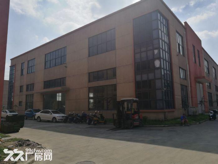 昆山开发区一楼标准厂房1550平米出租可架行车-图(1)