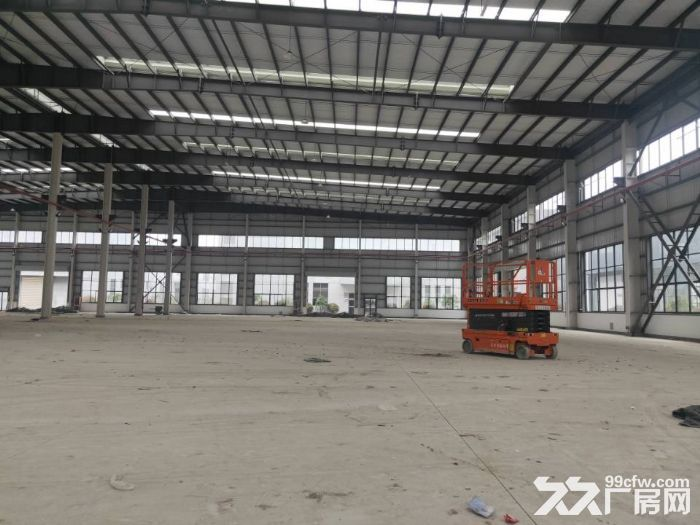 昆山高新区独栋单层厂房5600平米出租可架行车丙类消防-图(1)