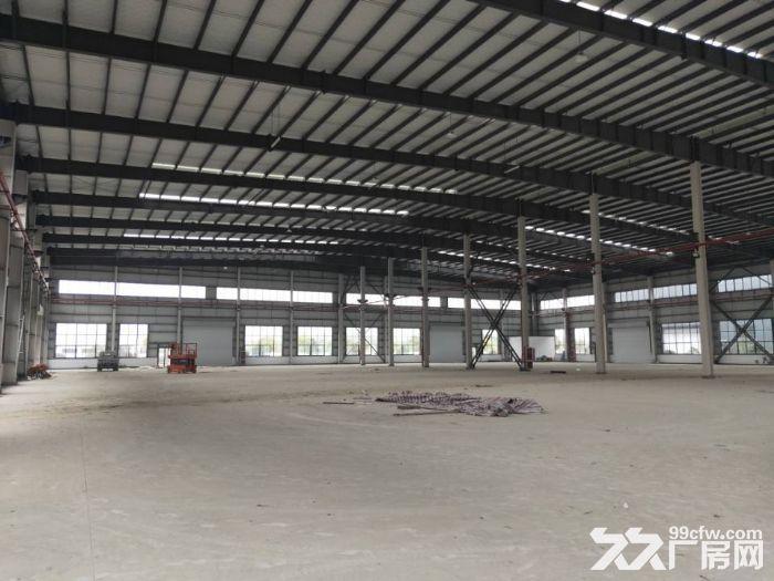 昆山高新区独栋单层厂房5600平米出租可架行车丙类消防-图(2)