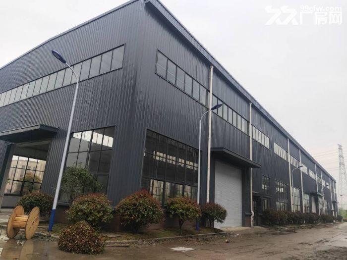 昆山高新区独栋单层厂房5600平米出租可架行车丙类消防-图(4)