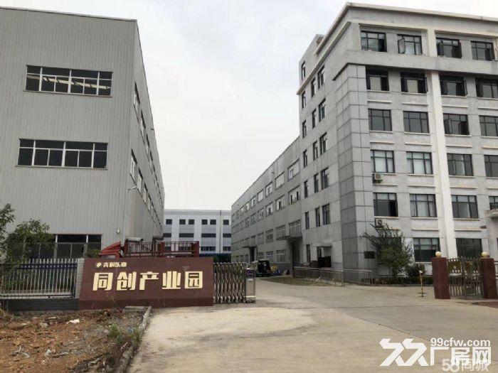 蔡甸军山同创产业园3600平米厂房出租可分租带3吨货梯-图(1)