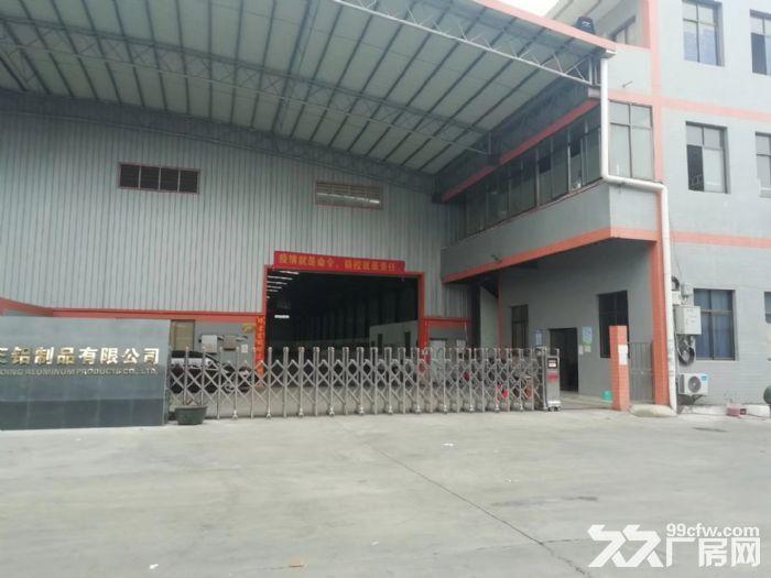 3000方独门独院三水乐平工业厂房,带吊机,配套齐,交通方便-图(1)