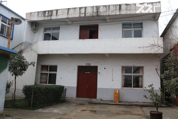 驿城区带院钢结构3000平厂房整体出租-图(1)