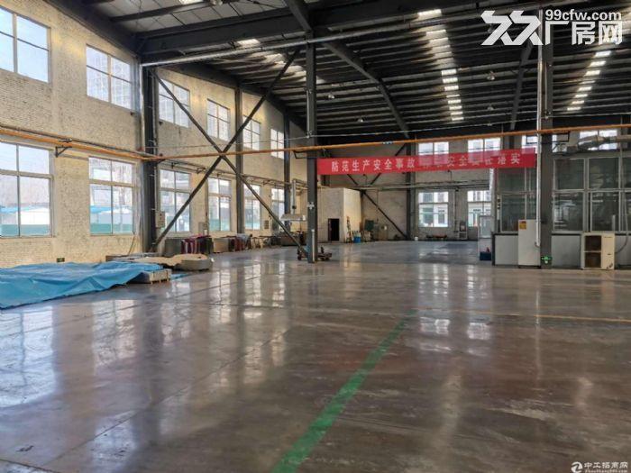 长清区厂房出租轻钢结构2000平紧邻经十西路刘长山路手续齐全可办公可生产-图(1)