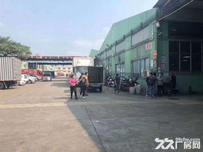 深圳光明新新出5栋红本丙二类钢构物流园仓库出租招租2000−25000平米-图(1)