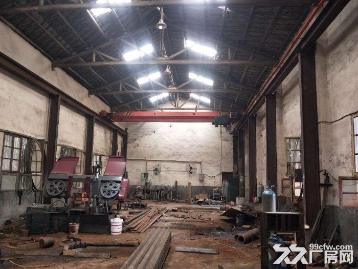 独门院可做油漆厂房700平方米5吨行吊-图(4)