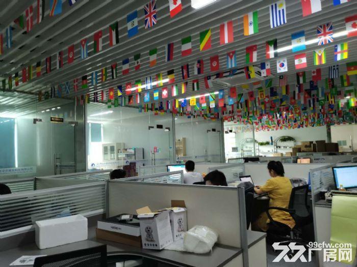 龙华龙胜福龙路出口新出楼上1400平精装厂房出租-图(1)