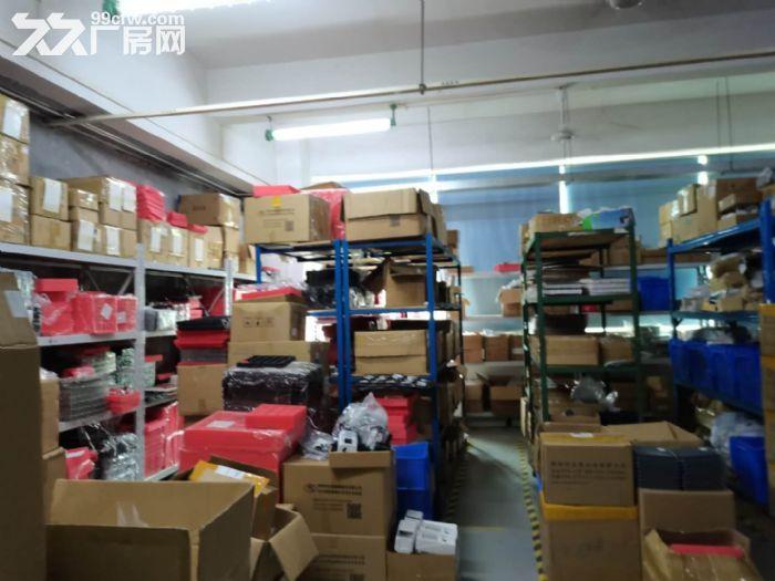 龙华龙胜福龙路出口新出楼上1400平精装厂房出租-图(3)