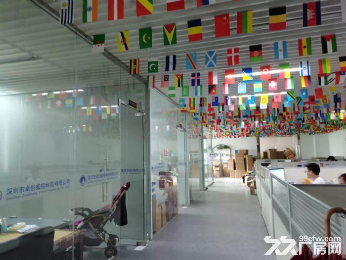 龙华龙胜福龙路出口新出楼上1400平精装厂房出租-图(2)