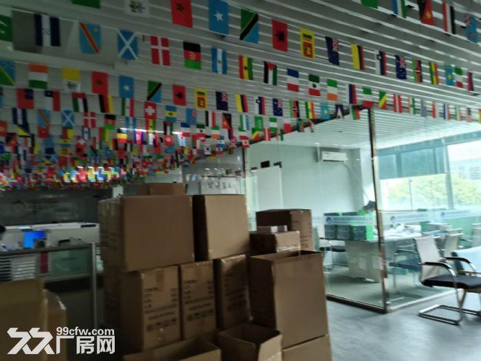 龙华龙胜福龙路出口新出楼上1400平精装厂房出租-图(5)