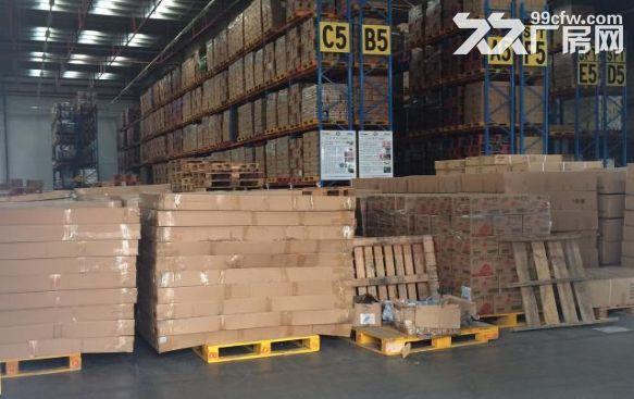 高速出口附近1050平米可做快递仓库贸易电商单层厂房出租-图(1)