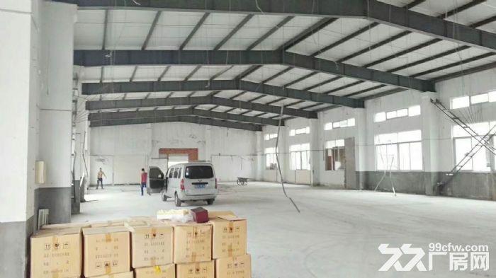 高速出口附近1050平米可做快递仓库贸易电商单层厂房出租-图(2)