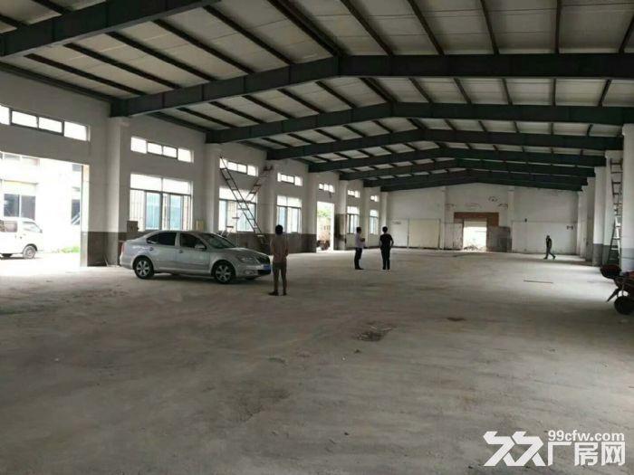 高速出口附近1050平米可做快递仓库贸易电商单层厂房出租-图(3)