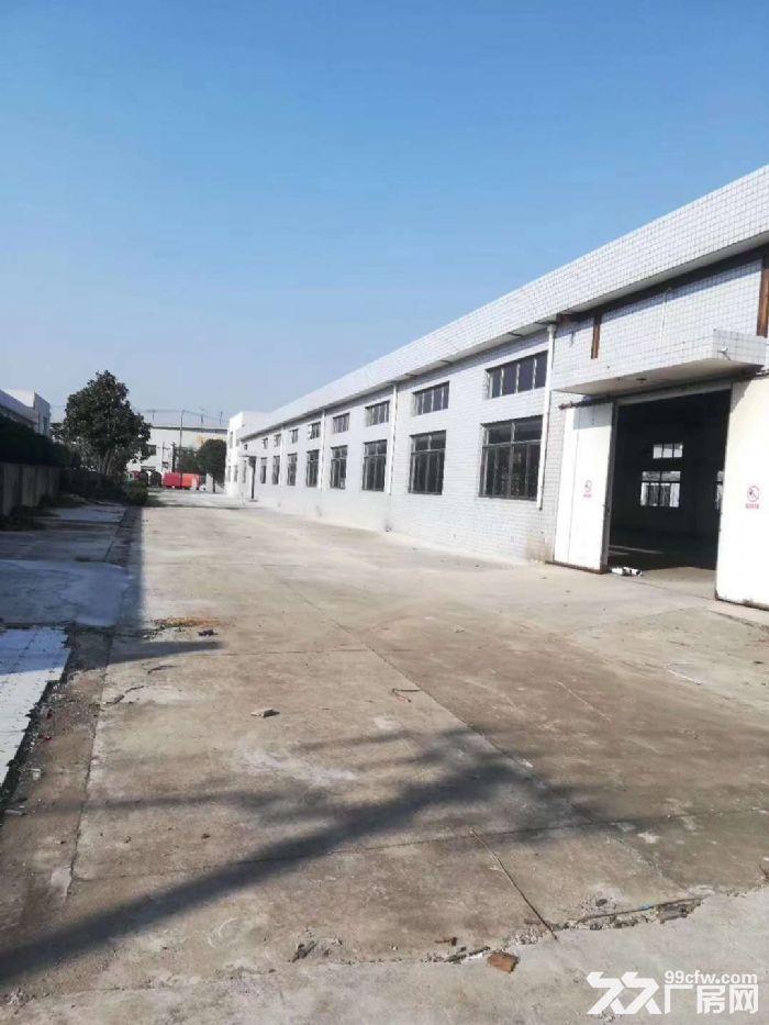 高速出口附近1050平米可做快递仓库贸易电商单层厂房出租-图(5)