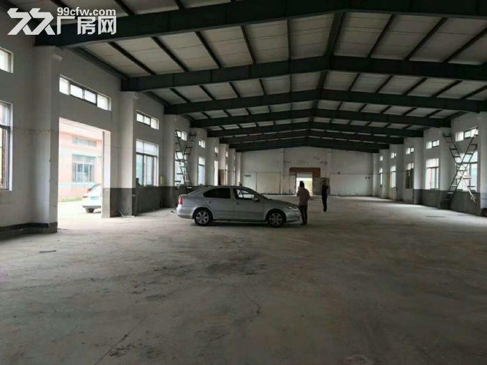 高速出口附近1050平米可做快递仓库贸易电商单层厂房出租-图(4)